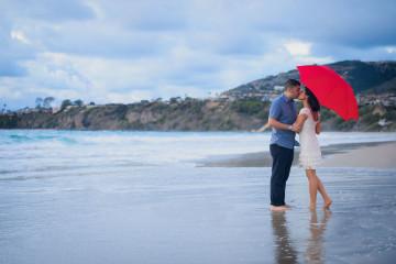 Ritz Carlton Laguna Niguel Engagement Session